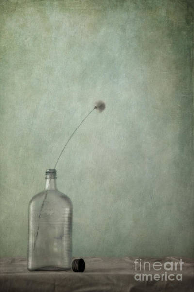Wall Art - Photograph - Just An Old Bottle And Its Cap by Priska Wettstein