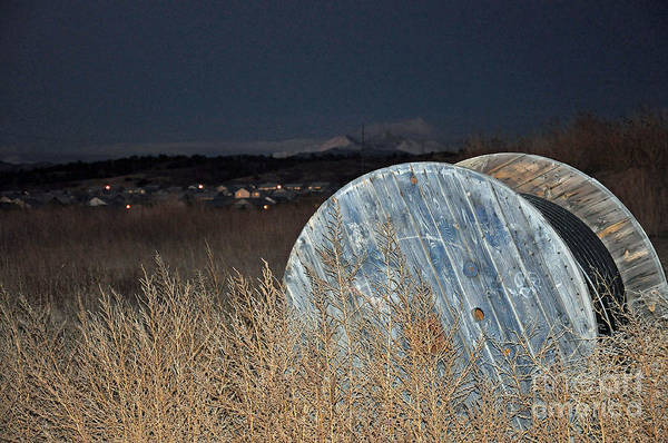 Wire Wrap Photograph - Just Before Dawn by Minnie Lippiatt