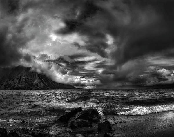 Canadian Photograph - Just Before The Storm ... by Yvette Depaepe