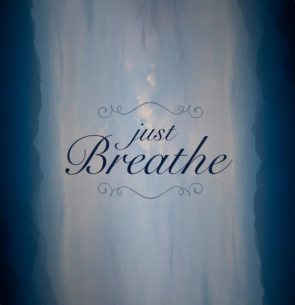 Just Wall Art - Photograph - Just Breathe by Shane Holsclaw