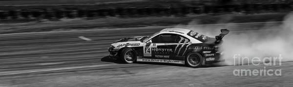 Drift Photograph - Just Drifting by Nigel Jones