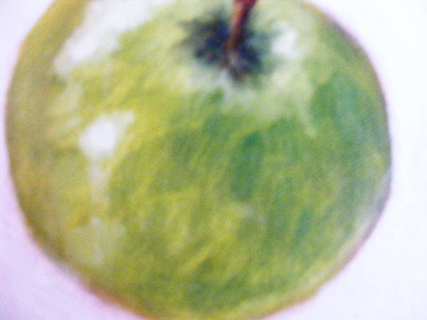 Ir Painting - Just Finished An Apple by Iri Hodgson