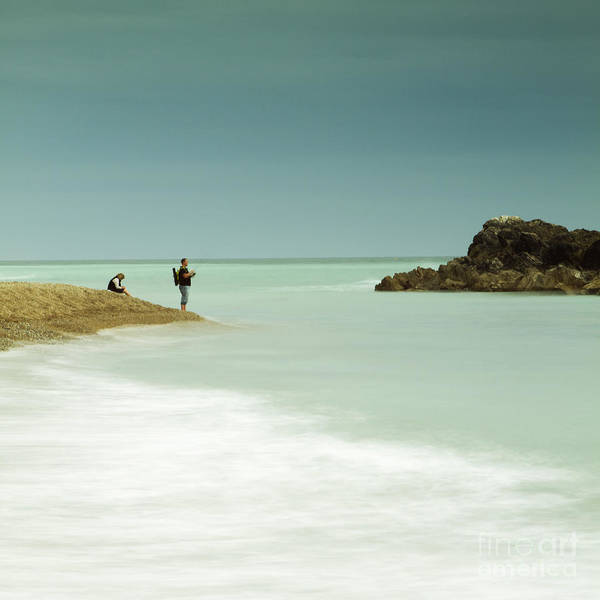 Wall Art - Photograph - Just Fishing by Angel Ciesniarska