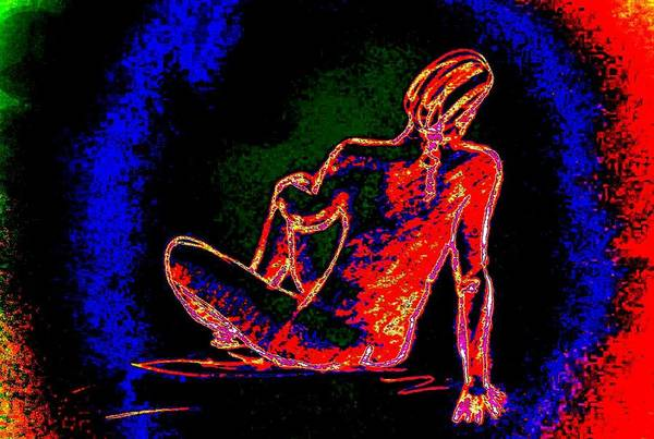 Sexuality Mixed Media - Just For A While by Genio GgXpress