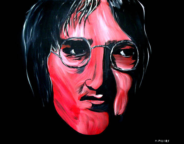Instant Karma Painting - Just John by Mark Moore