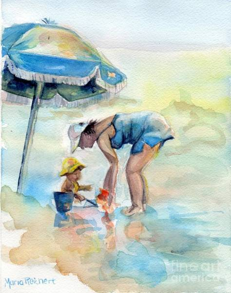 Hilton Head Island Painting - Just Me And You by Maria Reichert