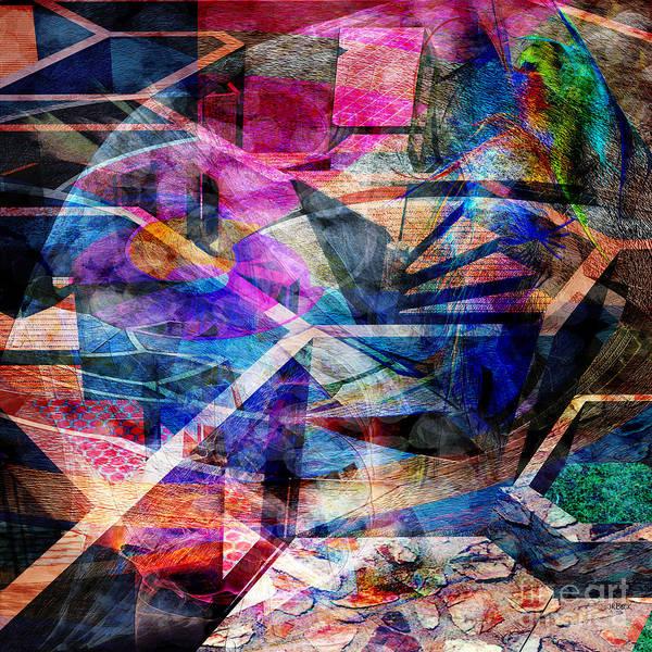 Lloyd Digital Art - Just Not Wright - Square Version by John Beck