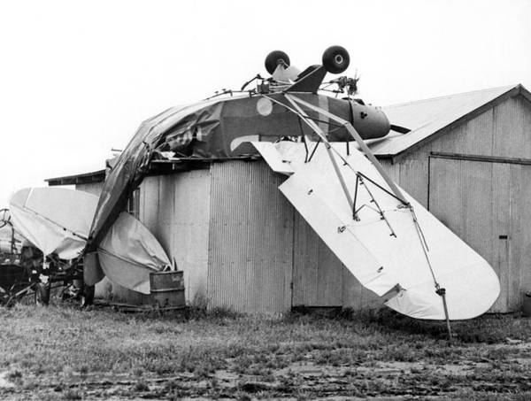 Vintage Airplane Photograph - Just Plane Exhausted by Underwood Archives