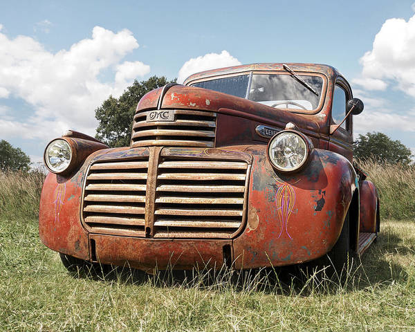 Photograph - Just Resting - Vintage Gmc Truck by Gill Billington