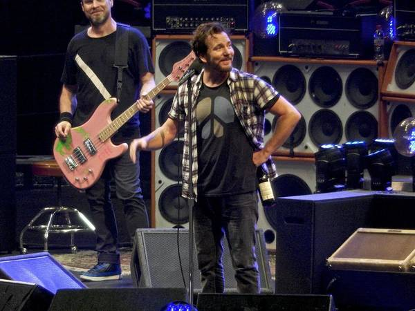 Pearl Jam Photograph - Just Smile by David Powell