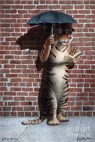 Just Wall Art - Painting - Just So Stories... by Will Bullas