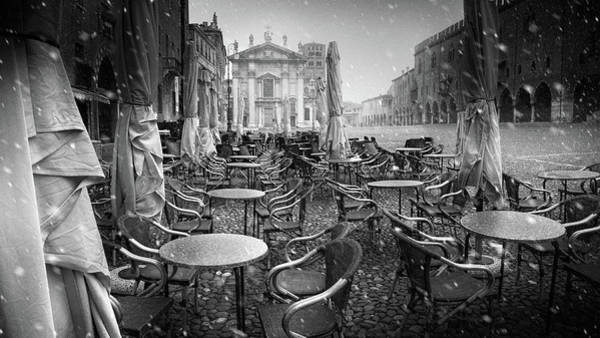 Cold Weather Wall Art - Photograph - Just The Way I Dream My City #2 by Luca Rebustini