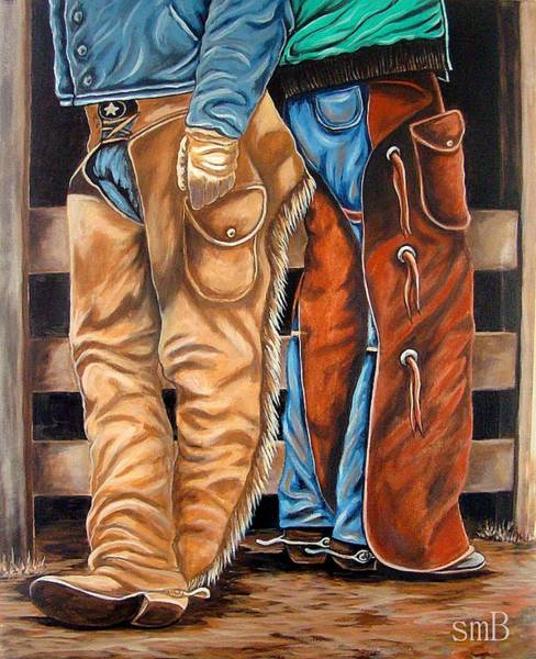 Bergstrom Painting - Just Waitin' On You by Susan Bergstrom