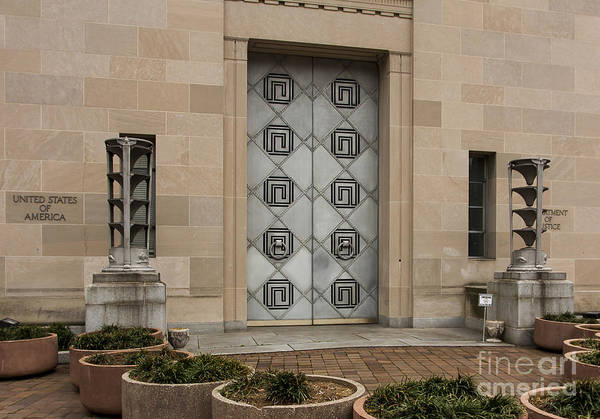 Photograph - Justice Doors by Steven Ralser