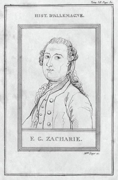 Painting - Justus Zachariae (1726-1777) by Granger