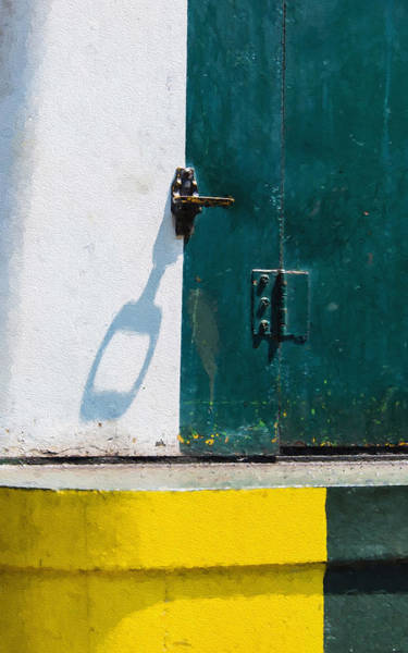 Photograph - Juxtaposition Of Color Light And Shadow by Gary Slawsky