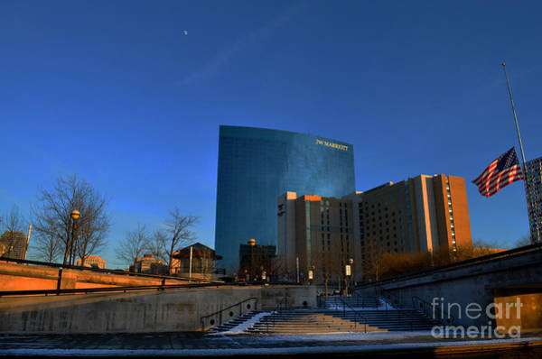 Photograph - Jw Marriott On The Canal Indianapolis by David Haskett II