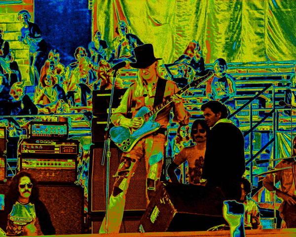 Photograph - Jwinter #2 Crop 2 Enhanced Colors 2 by Ben Upham