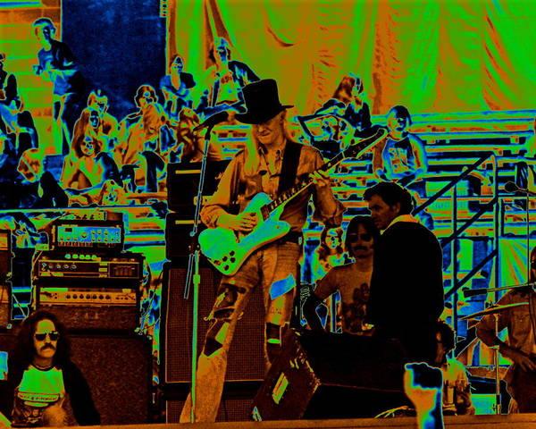 Photograph - Jwinter #2 Crop 2 Enhanced Colors by Ben Upham