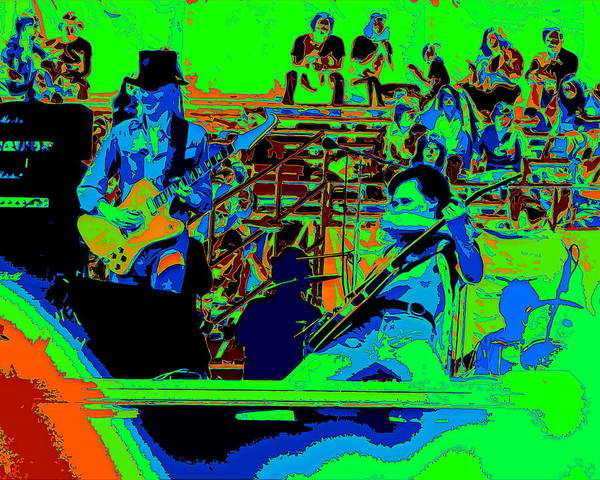Photograph - Jwinter #9 Enhanced Colors 1 by Ben Upham