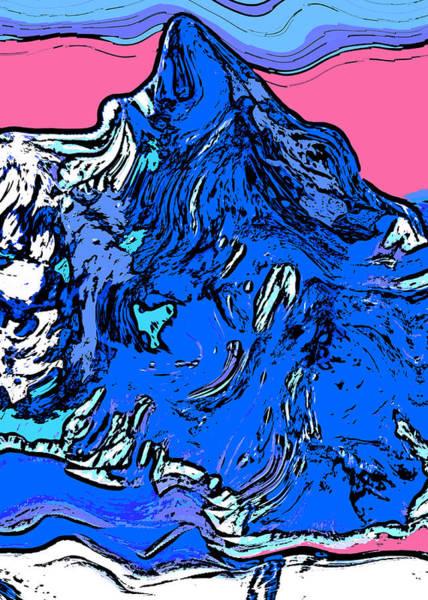Wall Art - Digital Art - K-2 by David G Paul