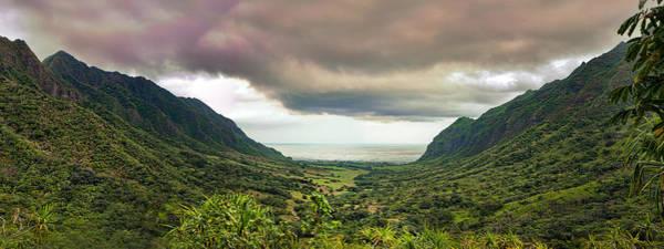 Photograph - Kaaawa Valley Panorama by Dan McManus