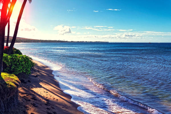 Photograph - Kaanapali Beach by Lars Lentz