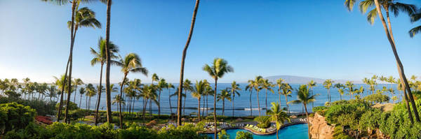 Photograph - Kaanapali Maui Resort   by Lars Lentz