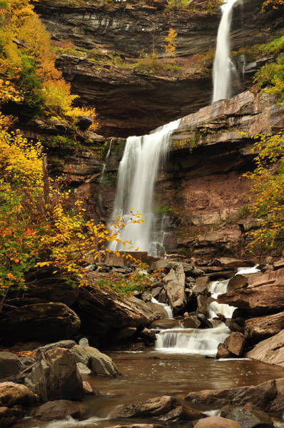 Kaaterskill Clove Photograph - Kaaterskill Falls by Adam Paashaus