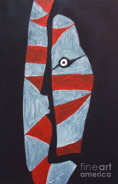 Kabuki Painting - Kabuki  Actor by Roberto Prusso