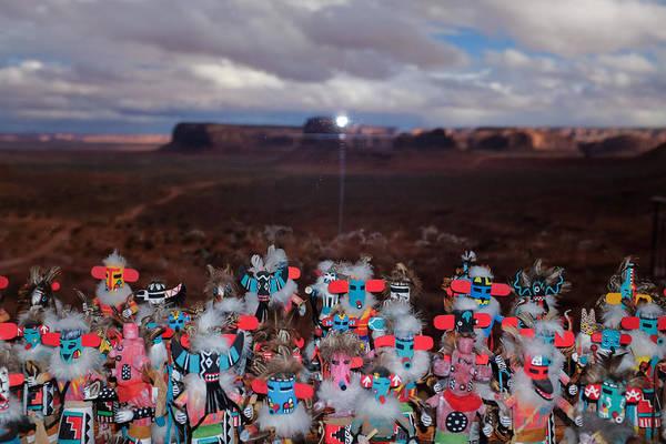 Photograph - Kachina Gathering by Ron White