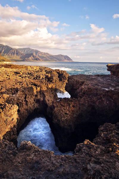 Kaena Photograph - Ka'ena Point Natural Bridge by Marcia Colelli