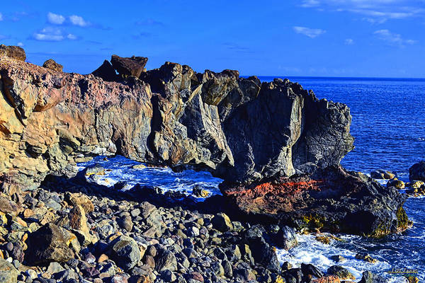 Kaena Photograph - Kaena Point Rock Arch by Aloha Art