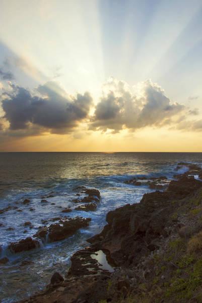 Kaena Photograph - Kaena Point State Park Sunset 3 - Oahu Hawaii by Brian Harig