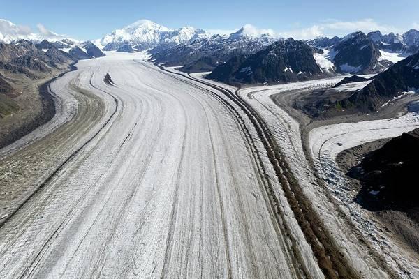 Kahiltna Glacier Art Print