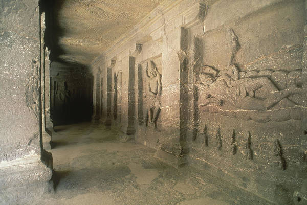 Wall Art - Photograph - Kailash Temple, Ellora, India by Kenneth Murray