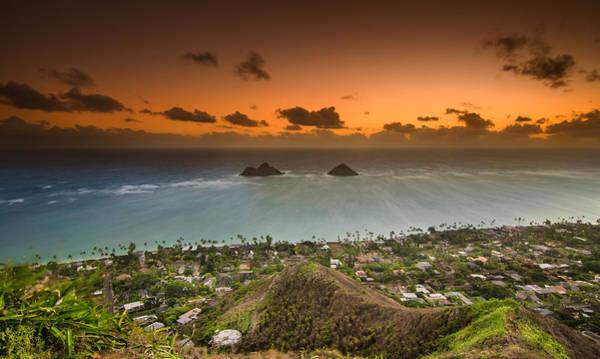 Wall Art - Photograph - Kailua Bay Sunrise by Tin Lung Chao
