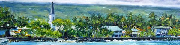 Kona Painting - Kailua - Kona by Stacy Vosberg