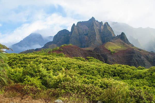 Kalalau Trail Wall Art - Photograph - Kalalau Valley - Kauai Hawaii by Brian Harig