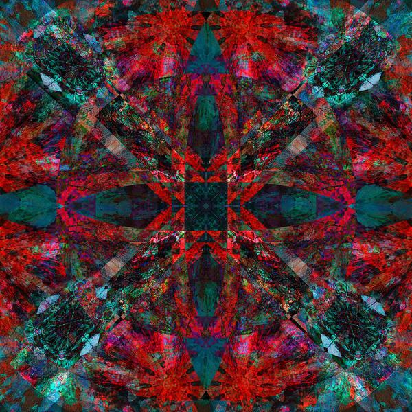 Jade Mixed Media - Kaleidoscope Leaves 2 by Jade Knights