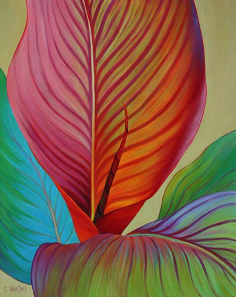 Art Print featuring the painting Kaleidoscope by Sandi Whetzel