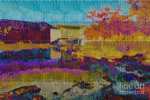 Digital Art - Kaleidoscopic Autumn Scene V by Beverly Claire Kaiya