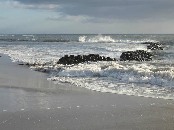 Photograph - Kalepolepo Beach Waves by Marilyn Wilson