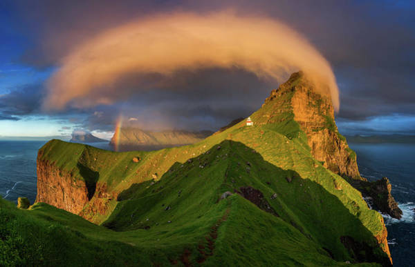 Wall Art - Photograph - Kallur Sunset by Wojciech Kruczynski