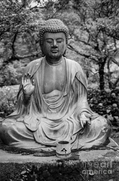 Wall Art - Photograph - Kamakura Buddha Viii by Dean Harte