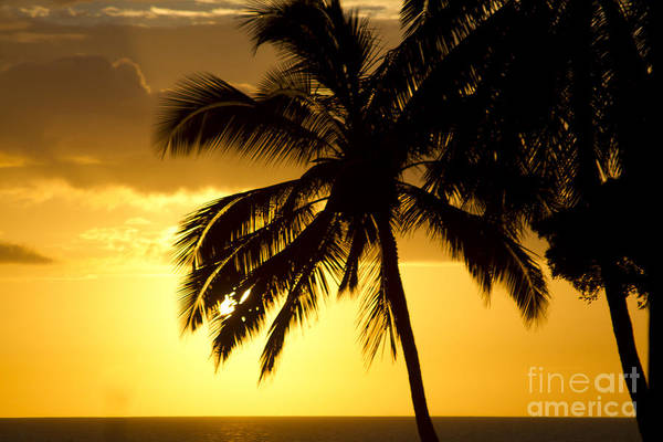 Photograph - Kamaole Sunset Kihei Maui Hawaii by Sharon Mau