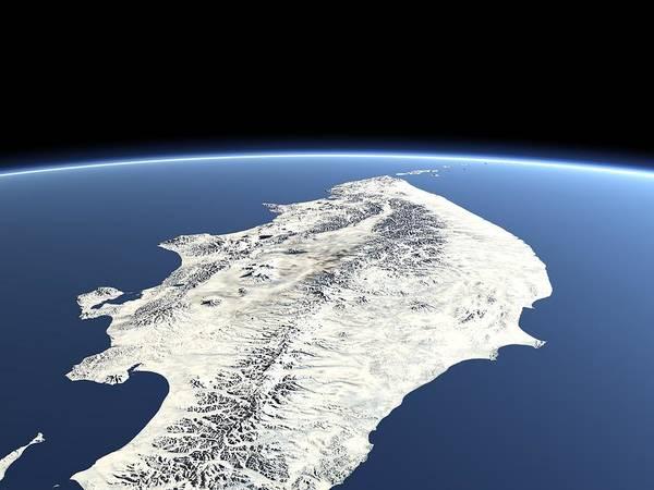 Kamchatka Photograph - Kamchatka Peninsula by Christoph Hormann/science Photo Library