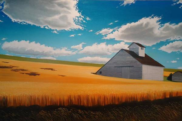 Wall Art - Painting - Kamiak In Summer by Leonard Heid