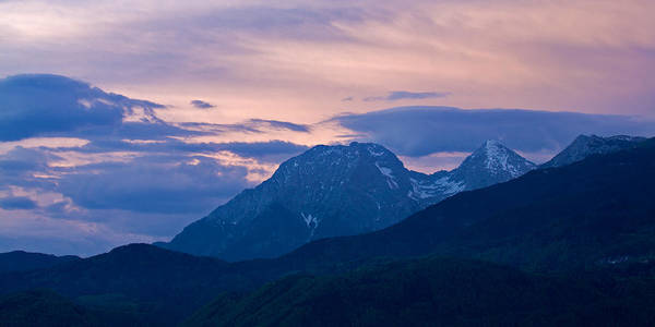 Wall Art - Photograph - Kamnik Alps At Sunset by Ian Middleton