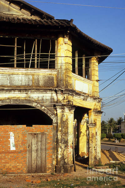 Photograph - Kampot Old Colonial 03 by Rick Piper Photography